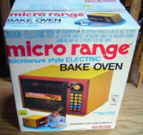 Coleco Micro Range Oven Image