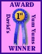 David's Yum Yum Award