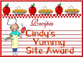 Yummy Site Award : Hi!!!! I just went through your site..What a wonderful & informative place you have created..I just love it....