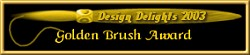 Gold Brush Award Image : Very nicely done - I found a lot of useful information for your visitors too!