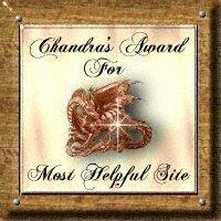 Most Helpful Site Award