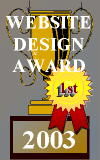 Website Design Award Image : Your web site was thoughtfully reviewed and found to meet all of the necessary requirements to merit receiving our award.