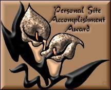 Personal Accomplishment Award