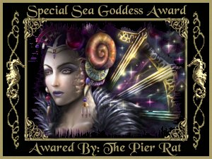 Special Sea Goddess Award Image : Great Web Site. Keep up the great cooking site!