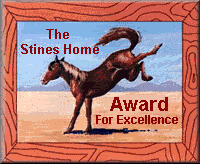 Excellence Award : We have visited your homepage and enjoyed our time there  very much. Please accept our award for your wonderful site.