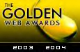 Golden Web Award Image : Congratulations! The Cooking Inn has been reviewed and chosen to bear the 2003-2004 Golden Web Award.