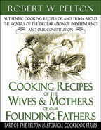 Cooking Recipes of the Wives and Mothers of Our Founding Fathers Image
