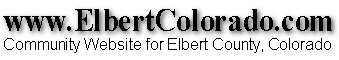 Elbert County Coloraodo Image
