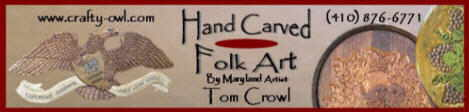 Hand Carved Folk Art Image