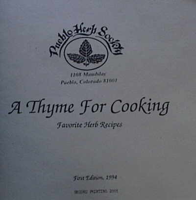 A Thyme for Cooking Image